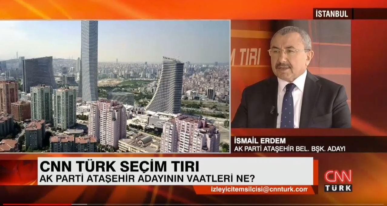 CNN TÜRK TV'de Seçim Tırı Programı