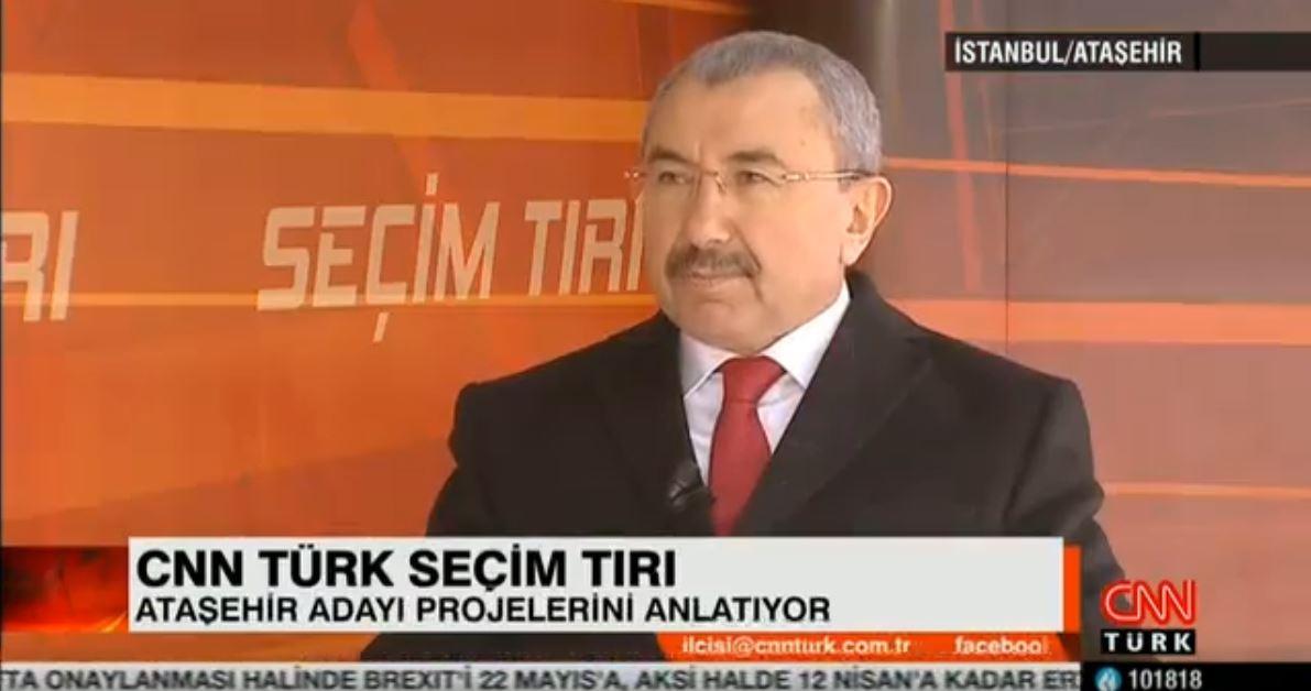 22 MART CNN TÜRK SEÇİM TIRI PROGRAMI